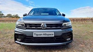 2021 Volkswagen Tiguan 5N MY21 162TSI Wolfsburg Edition DSG 4MOTION Allspace Platinum Grey 7 Speed.
