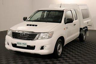 2012 Toyota Hilux KUN16R MY12 SR Xtra Cab 4x2 Glacier 5 speed Manual Utility.