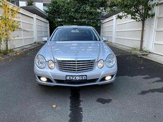 2006 Mercedes-Benz E-Class W211 MY07 E350 Elegance Silver 7 Speed Automatic Sedan.