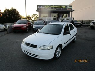 2005 Holden Astra TS Classic White 4 Speed Automatic Hatchback.