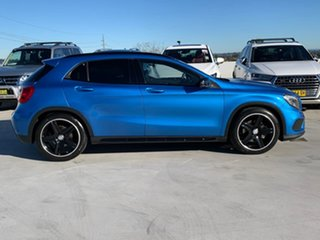 2015 Mercedes-Benz GLA-Class X156 806MY GLA250 DCT 4MATIC Blue 7 Speed Sports Automatic Dual Clutch.
