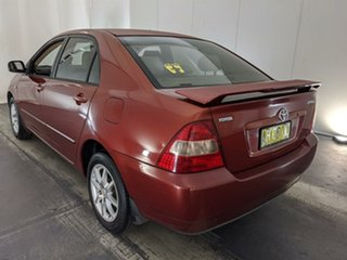 2002 Toyota Corolla ZZE122R Conquest Red 4 Speed Automatic Sedan