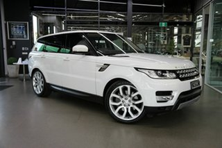 2016 Land Rover Range Rover Sport L494 16.5MY HSE White 8 Speed Sports Automatic Wagon.