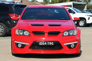 2008 Holden Special Vehicles ClubSport E Series R8 Red 6 Speed Sports Automatic Sedan