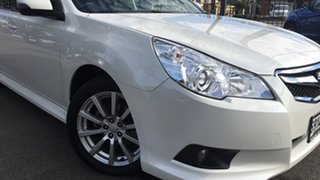 2012 Subaru Liberty B5 MY12 2.5i Lineartronic AWD White 6 Speed Constant Variable Sedan.