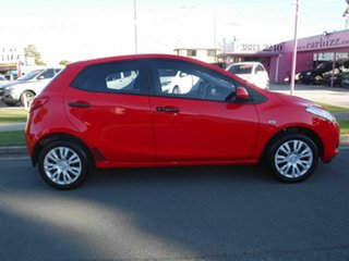 2009 Mazda 2 DE SERIES 1 Neo Red Automatic Hatchback.