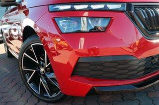 2021 Skoda Kamiq NW MY21 110TSI DSG FWD Monte Carlo Velvet Red 7 Speed Sports Automatic Dual Clutch.