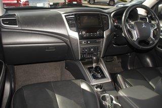2018 Mitsubishi Triton MR MY19 GLS Double Cab Premium Blue 6 Speed Sports Automatic Utility