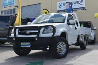 2008 Holden Colorado RC MY09 DX (4x2) White 5 Speed Manual Cab Chassis.