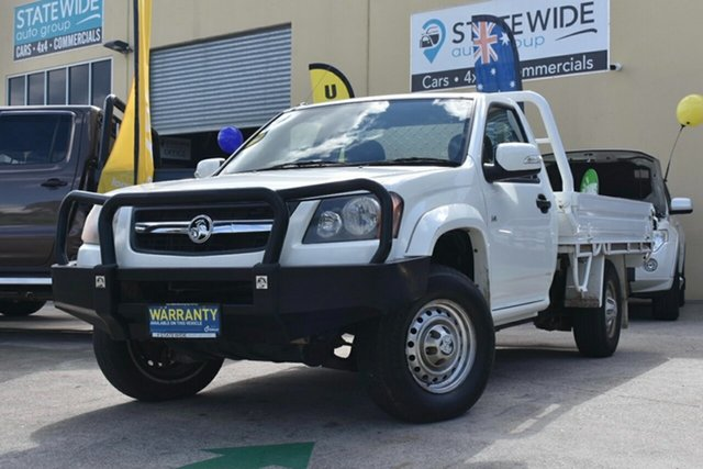 Used Holden Colorado RC MY09 DX (4x2) Capalaba, 2008 Holden Colorado RC MY09 DX (4x2) White 5 Speed Manual Cab Chassis
