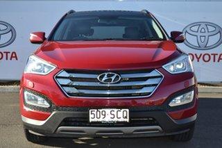 2013 Hyundai Santa Fe DM Highlander CRDi (4x4) Maroon 6 Speed Automatic Wagon.