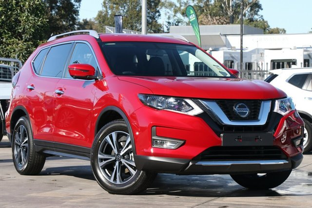 New Nissan X-Trail T32 MY21 ST-L X-tronic 2WD Newstead, 2021 Nissan X-Trail T32 MY21 ST-L X-tronic 2WD Ruby Red 7 Speed Constant Variable Wagon