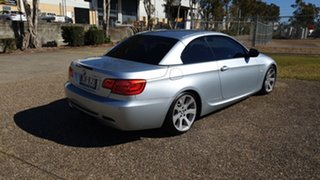2012 BMW 320d E93 MY12 Silver 6 Speed Auto Steptronic Convertible.
