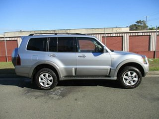 2004 Mitsubishi Pajero NP MY05 Exceed Silver 5 Speed Sports Automatic Wagon.