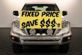 2016 Toyota Landcruiser Prado GDJ150R GX Glacier 6 speed Automatic Wagon.