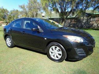 2009 Mazda 3 BL10F1 Neo Black 6 Speed Manual Sedan.