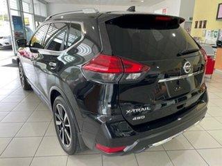 2018 Nissan X-Trail T32 Series II Ti X-tronic 4WD Black 7 Speed Constant Variable Wagon.