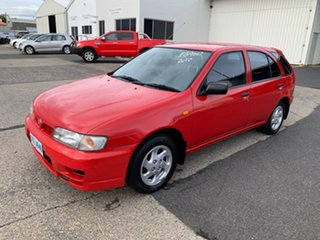 1997 Nissan Pulsar N15 LX Red 4 Speed Automatic Hatchback