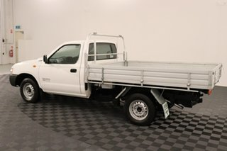 2009 Nissan Navara D22 MY2009 DX 4x2 White 5 speed Manual Cab Chassis