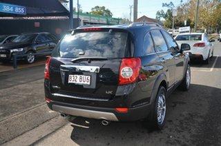 2008 Holden Captiva CG MY09 LX (4x4) Black 5 Speed Automatic Wagon.