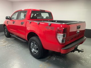 2015 Ford Ranger PX MkII XLS Double Cab Red 6 Speed Sports Automatic Utility