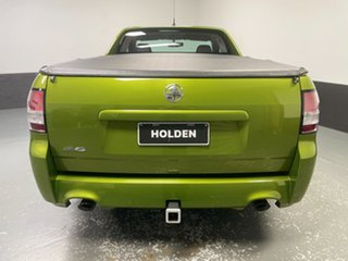 2015 Holden Ute VF II MY16 SV6 Ute Green 6 Speed Sports Automatic Utility