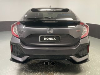 2018 Honda Civic 10th Gen MY18 RS Modern Steel 1 Speed Constant Variable Hatchback.