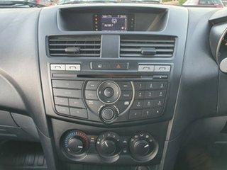 2015 Mazda BT-50 UP0YF1 XT Freestyle Titanium Grey 6 Speed Manual Cab Chassis