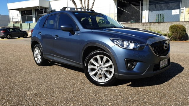 Used Mazda CX-5 MY13 Akera (4x4) Underwood, 2013 Mazda CX-5 MY13 Akera (4x4) Blue 6 Speed Automatic Wagon