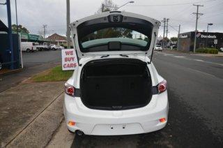 2013 Mazda 3 BL Series 2 MY13 Neo White 5 Speed Automatic Hatchback