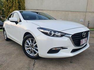 2018 Mazda 3 BN5276 Neo SKYACTIV-MT Sport White 6 Speed Manual Sedan.