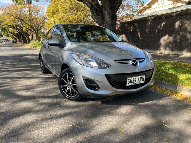 Pre-Owned Mazda 2 DE10Y2 MY12 Neo Hawthorn, 2012 Mazda 2 DE10Y2 MY12 Neo Silver 4 Speed Automatic Hatchback