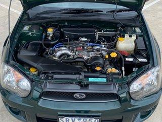 2004 Subaru Impreza S MY04 RS AWD Green 4 Speed Automatic Sedan