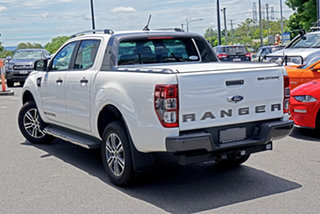 2020 Ford Ranger PX MkIII 2020.75MY Wildtrak Arctic White 6 Speed Sports Automatic.