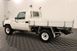 2016 Toyota Landcruiser VDJ79R Workmate French Vanilla 5 speed Manual Cab Chassis