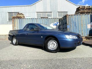 2003 Holden Ute VY Blue 4 Speed Automatic Utility.