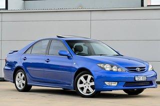 2004 Toyota Camry MCV36R Sportivo Blue 4 Speed Automatic Sedan.