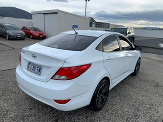 2015 Hyundai Accent RB3 MY16 Active White 6 Speed Constant Variable Sedan.