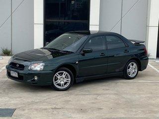 2004 Subaru Impreza S MY04 RS AWD Green 4 Speed Automatic Sedan.