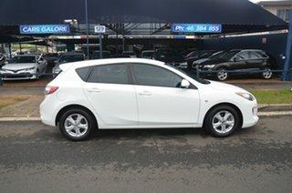 2013 Mazda 3 BL Series 2 MY13 Neo White 5 Speed Automatic Hatchback.