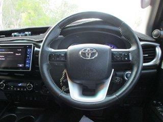 2017 Toyota Hilux GUN126R MY17 SR5+ (4x4) Graphite 6 Speed Automatic Dual Cab Utility