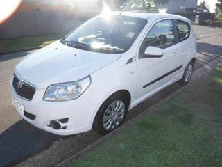 2009 Holden Barina TK White 5 Speed Manual Hatchback