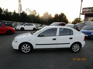 2005 Holden Astra TS Classic White 4 Speed Automatic Hatchback