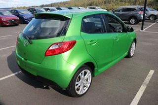 2008 Mazda 2 DE10Y1 Genki Spirited Green 5 Speed Manual Hatchback.