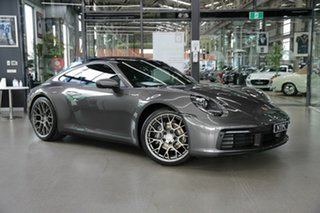 2020 Porsche 911 992 MY20 Carrera PDK Grey 8 Speed Sports Automatic Dual Clutch Coupe.