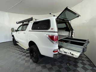 2012 Mazda BT-50 UP0YF1 GT Cool White 6 Speed Sports Automatic Utility
