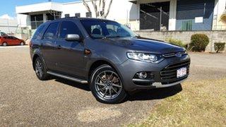 2012 Ford Territory SZ TS (4x4) Grey 6 Speed Automatic Wagon.