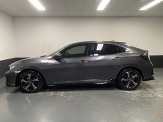 2018 Honda Civic 10th Gen MY18 RS Modern Steel 1 Speed Constant Variable Hatchback