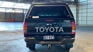 2008 Toyota Hilux GGN25R MY08 SR5 Black 5 Speed Manual Utility