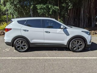 2017 Hyundai Santa Fe DM3 MY17 Active X 2WD White 6 Speed Sports Automatic Wagon.